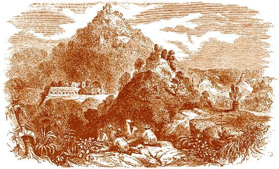 Nákresy z Palenque