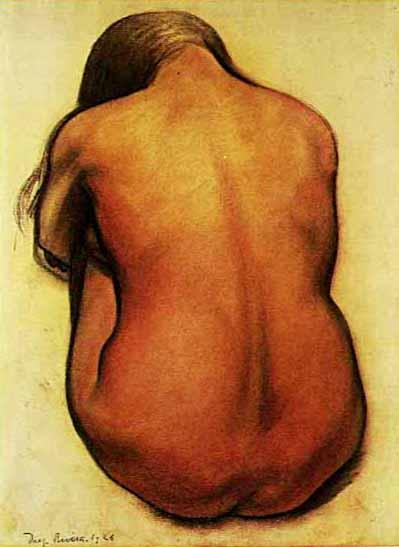 Espalda - Záda - Diego Rivera