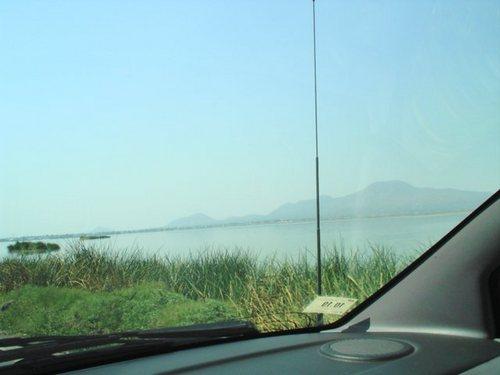 Zbytek jezerní části  Xalco (Chalco)