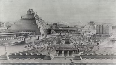 KRESBA TEMPLO MAYOR - HUEY TEOCALLI